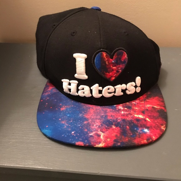 Classic DGK I love haters snapback galaxy edition